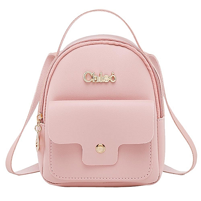 Tectores Fashion Ladies Shoulders Small Backpack Letter Purse Mobile Phone  Bag 5299ec640ae9a