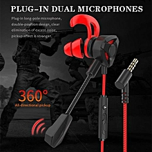 Used, Gaming Earbuds,E-Sports Earphones Noise Cancelling In-Ear Headphones With Detachable Mic Stereo For PS4, Xbox One, Nintendo for sale  Nigeria