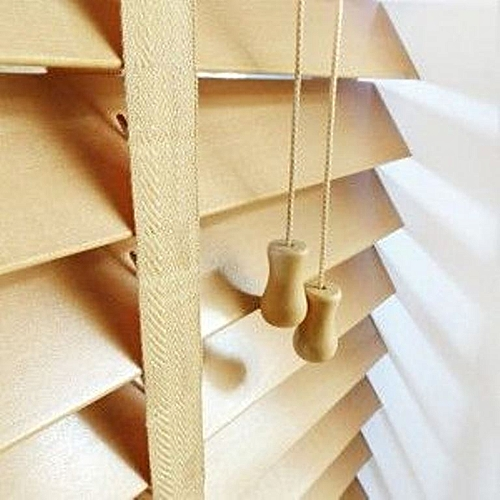 Wooden Venetian Window Blinds (Natural) Prepaid Only
