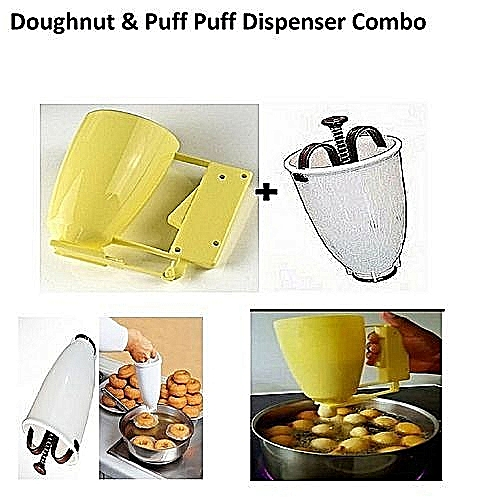 Universal Doughnut + Puf Puf Maker Dispenser