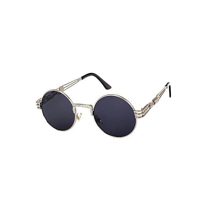 cb61b298cb4 Peekaboo New Silver Gold Metal Mirror Small Round Sunglasses Men Vintage  Round Sun Glasses Women Cheap