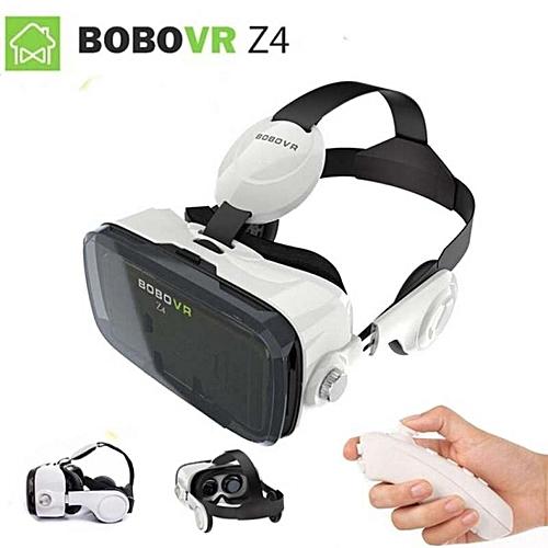 b2ee26980058 Glorystar 2017 Google Cardboard VR BOX 2 XiaoZhai Bobo Vr Z4 Virtual  Reality 3D Glasses VR Headset Earphone Movie + Bluetooth Controller