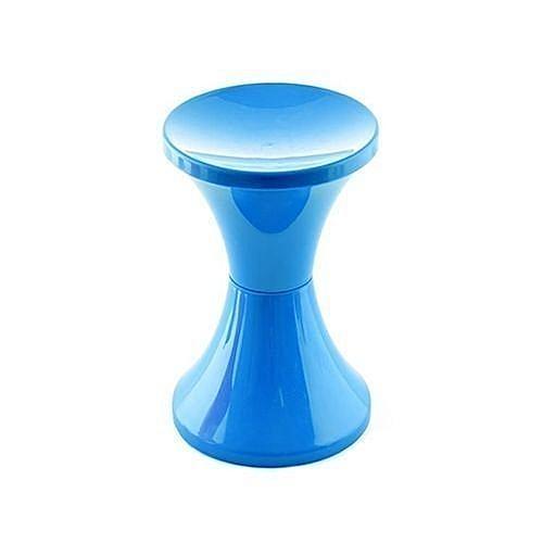 Plastic Portable Stool - Blue Color *
