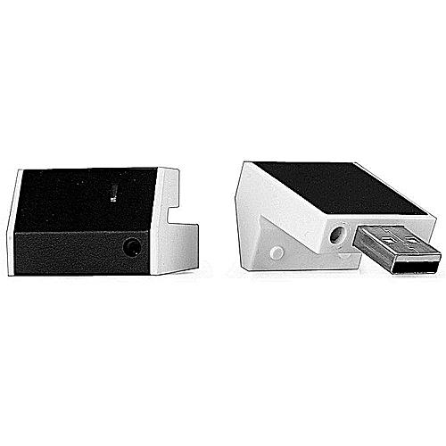 Wireless Remote Control Laser Pointer - Black