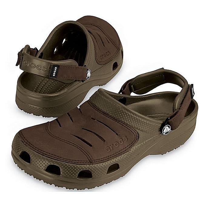 Fashion Ng Croc Men's Sandal BrownJumia Yukon qpLUzVGSjM