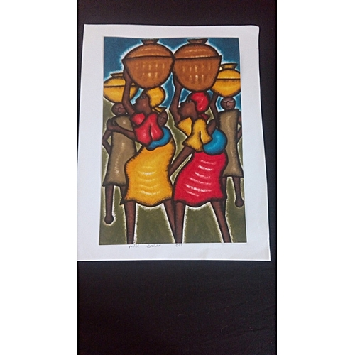 African Art, Water Painting {Unframe}