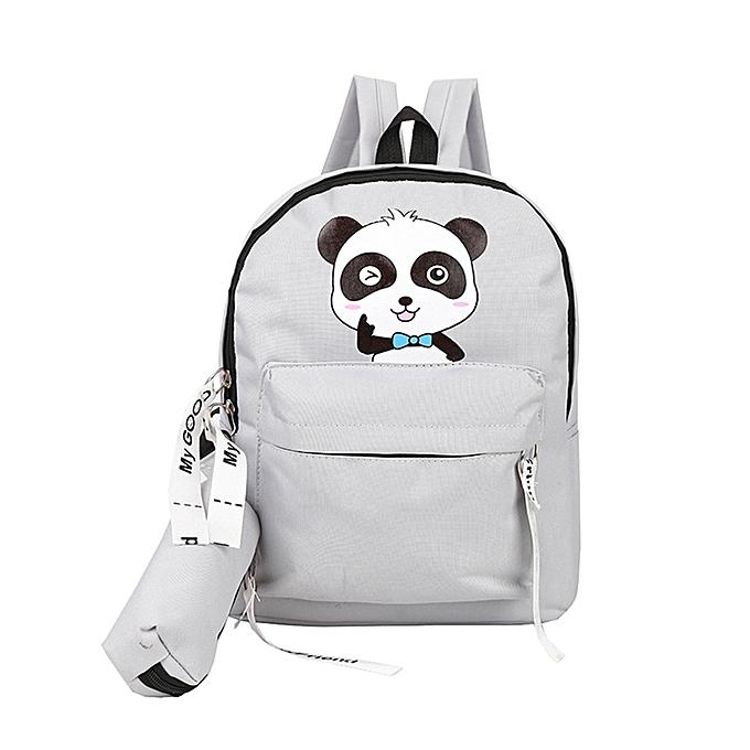 Fashion Hiamok Adult Backpack Teenage Girls Bogs School Backpack Bag Cartoon  Students Bags. By Fashion f8f5747b89c03