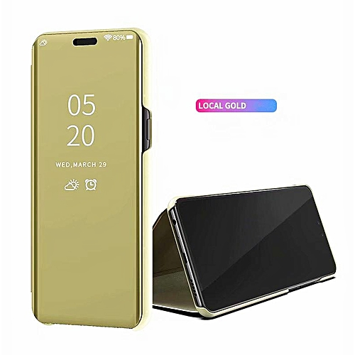 online retailer 99ed1 e48c5 Clear View Smart Mirror Case For Samsung Galaxy J5 Pro, Flip Case PU  Leather Smart Window View Stand Full Cover For Samsung Galaxy J5 Pro