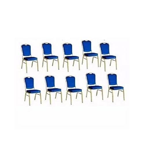 Diamond Banquet Chairs - 10 Pieces