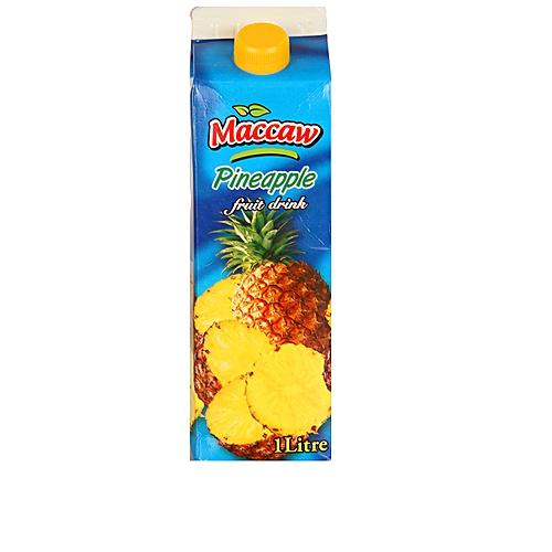 Maccaw Pineapple Fruit Drink -1liter
