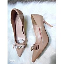 cbf1954ba31 Nude Classic Ladies Court Shoes