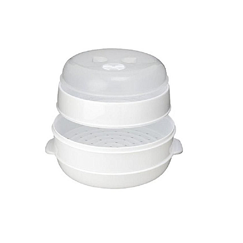 2-Tier Microwave Steamer -