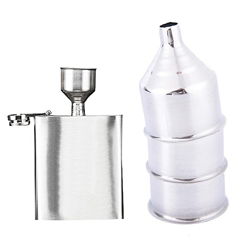 304 Stainless Steel Funnel Hip Flask Thicker Funnel Hip Flask Accessories Anti-drip Bar Tool