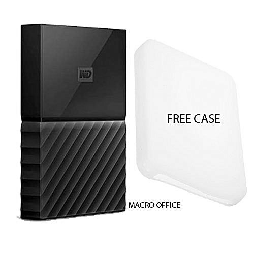 2TB My Passport Portable USB 3.0 External Hard Drive with Auto Backup - Black