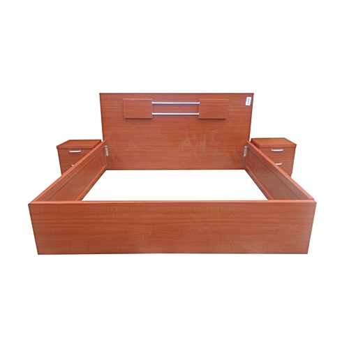 6*6 Wooden Bed Frame Delivery Only In Lagos