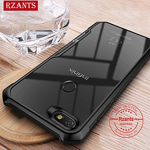 Rzants For Infinix NOTE 5 X604 Hard Case【Four Corner】Transparent Silica Gel Matte ShockProof Slim Thin Cover Phone Casing