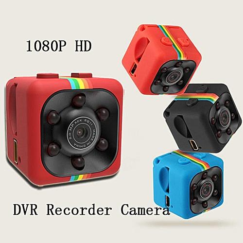 IMars Mini Camera SQ11 HD Camcorder HD Night Vision 1080P Sports Mini DV Video Recorder Blue