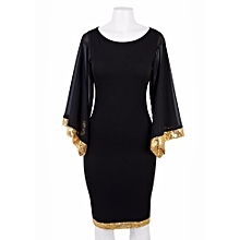 1cabd8fd34b8 21Attire Stylish Bodycon Dress - Gold Sequins