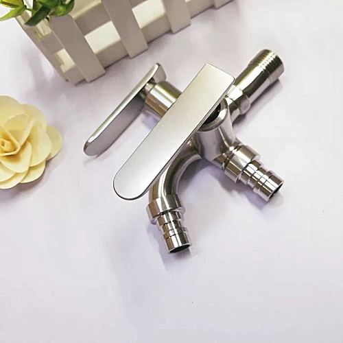 SUS304 Stainless Steel Washing Machine Faucet