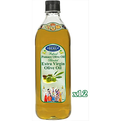 Extra Virgin Olive Oil 12x1 Litre Glass