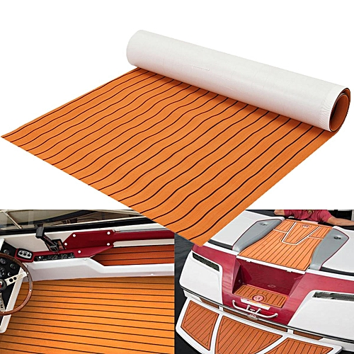 120CMx200CM EVA Foam Teak Sheet Flooring Synthetic Boat Decking Yacht Floor Pad