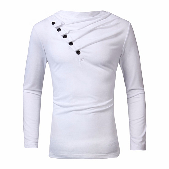 Autumn Men High-Elastic Cotton T-shirts Men s Long Sleeve Tight T-shirt a93360c9502