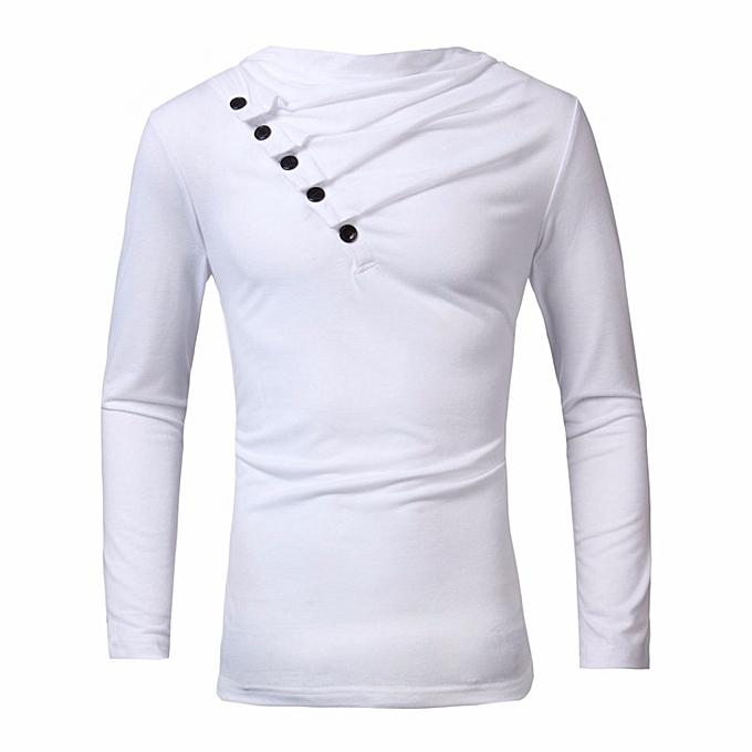 Autumn Men High-Elastic Cotton T-shirts Men s Long Sleeve Tight T-shirt ff5722a321b