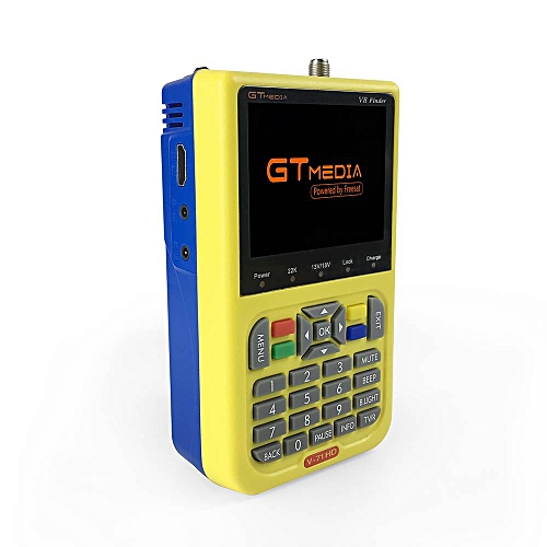 GTMedia Mpeg4 Full HD Digital Satellite Finder Meter Tracker