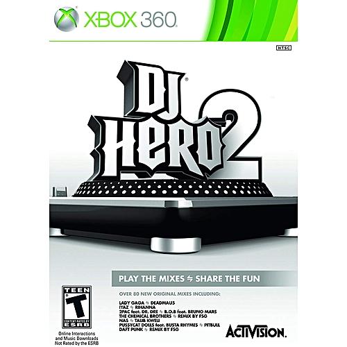 Activision DJ Hero 2 -xbox 360