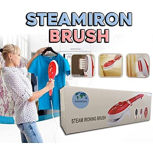 STEAM IRONING BRUSH 880W FOR IRONING AND DRY CLEANING