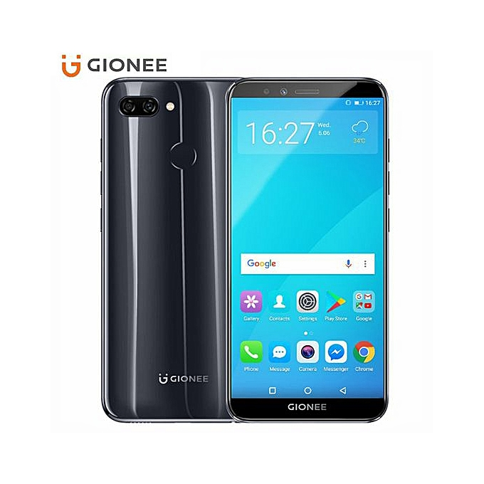 Gionee S11 Lite 5 7-Inch HD (4GB,64GB ROM) Android 7 1 (13MP + 2MP