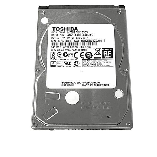 500GB SATA Laptop Hard Drive