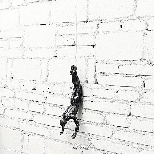 Hand-Made Sculpture Rope For Diving Climbers Iron Resin Wall Decoration Gifts For Artists