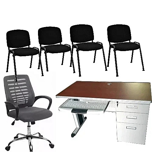 Directors Office Table & Chairs (Lagos Delivery Only)