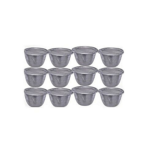 Moi Moi Plate Container Cups With Cover