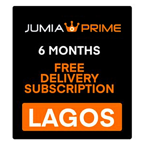 Jumia Prime - Free Delivery Lagos - 6 Months Subscription