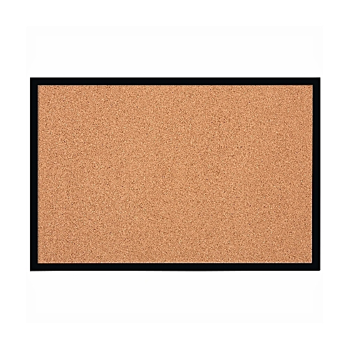 Cork Board With Black Frame 585x430mm - 1903776