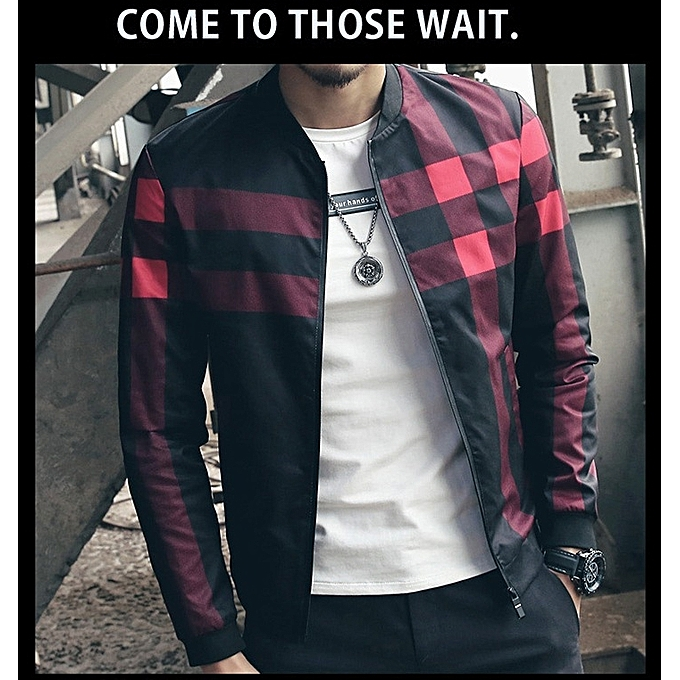 3547d44534d53 New Fashion Brand Jacket Men Trend Korean Slim Fit Mens Designer Clothes Men  Casual Jacket- ...