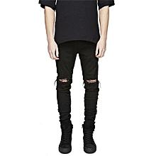 1c3b6fcdde36c Men  039 s Denim Slim Stretch Jeans - Black
