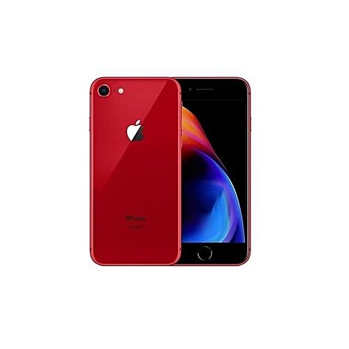 IPhone 8 4.7-Inch HD (2GB,64GB ROM) IOS 11, 12MP + 7MP 4G Smartphone - Red Edition