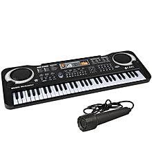 2475a7816 61 Keys Electronic Multifunction Keyboard Piano(Black)