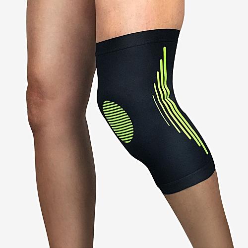58c85a1674 Generic Knee Brace Knee Sleeve Stretchy 1 Pcs Compression Sleeve Basketball  Knee Pad Fitness Anti-Collision