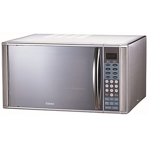 30L Digital Microwave Oven With Grill + Auto Cooking