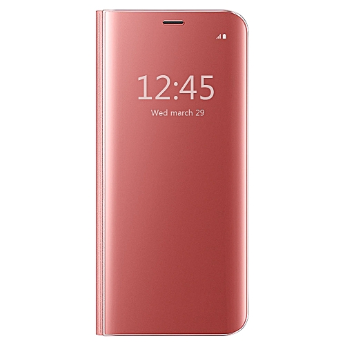d606ebb3bc899e Mooncase Samsung Galaxy J7 Pro   J7 2017 Case , Perfect Fit  Translucent  Mirror Flip Shell Ultra Smart Slim Cover