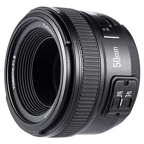 YN50mm F1.8 Large Aperture AF Auto Focus FX DX Full Frame Lens For Nikon, Also Avaliable For Canon.