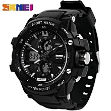 b30450177c Chronograph Digital & Analog Sports Watch + Free LED Watch