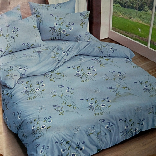 SMOOTH FLORAL BEDSHEET AND PILLOW CASES