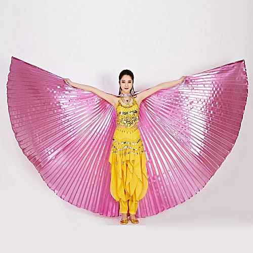 Fudaolom ShopEgypt Belly Wings Dancing Costume Belly Dance Accessories No Sticks