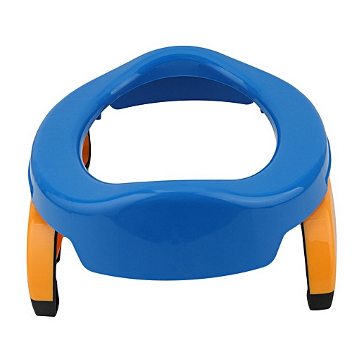 2-in-1 Portable Baby Travel Potty, Toilet Seat - Blue