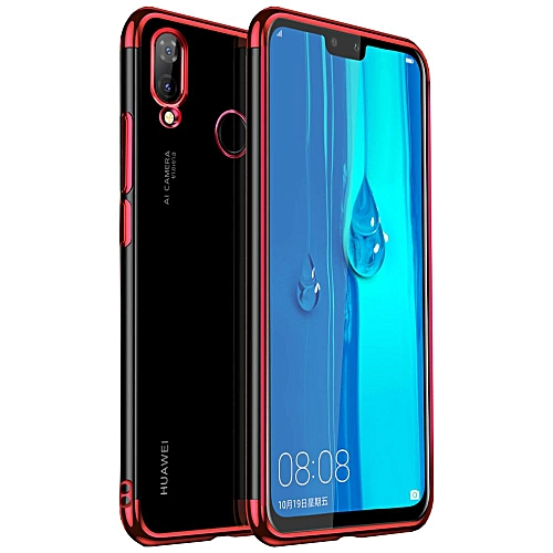 online retailer c82df e120e Huawei Y9 2019 Case, Ruilean TPU Plating Side Case Cover For Huawei Y9 2019